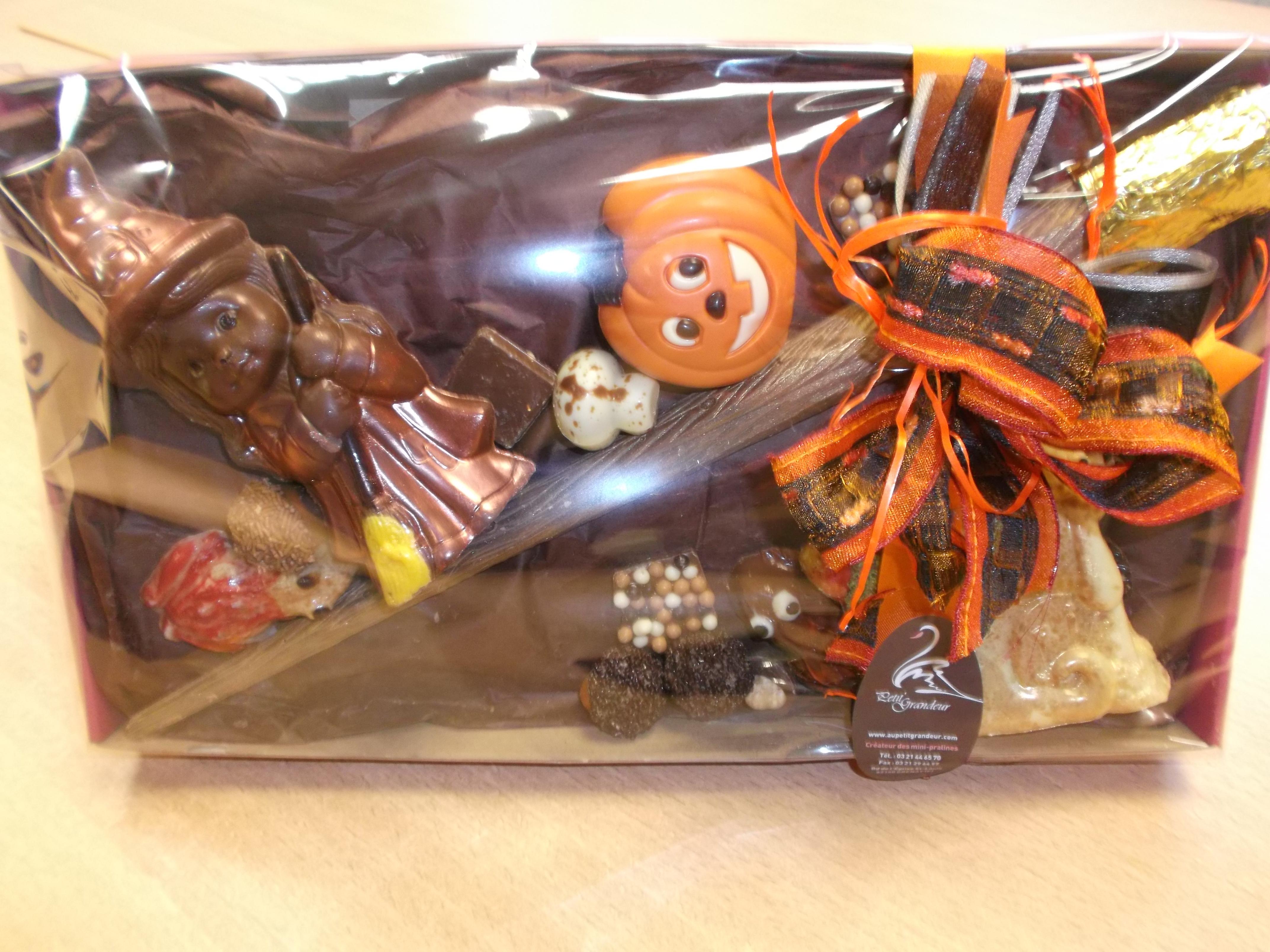 Des chocolats pour Halloween